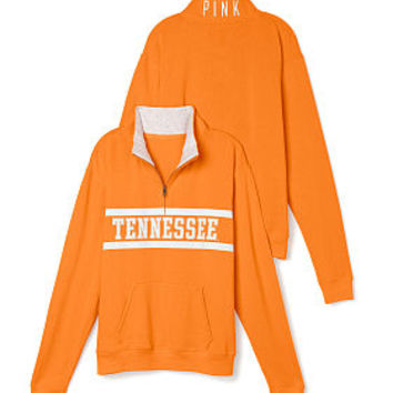 University of Tennessee Boyfriend Half Zip - PINK - Victoria's Secret