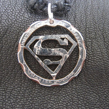 Superman Quarter Necklace