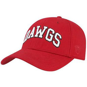 Licensed Georgia Bulldogs Official NCAA Adjustable Classmen Hat Cap by Top of the World KO_19_1