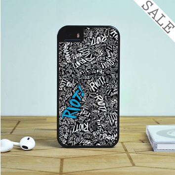 Paramore Riot Quote Blue Romantic For iPhone | Samsung Galaxy | HTC Case
