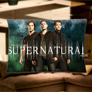 "Super Natural Movie Pillow Case Cover Bedding 30"" x 20"" Great Gift"