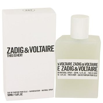 This Is Her Perfume By Zadig & Voltaire Eau De Parfum Spray FOR WOMEN