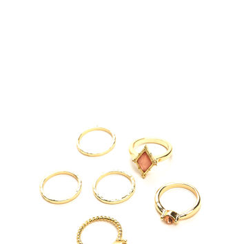 Lots Of Charm Ring Set