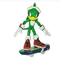 Sonic the Hedgehog: Free Riders Jet the Hawk Action Figure