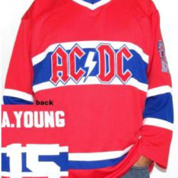 AC/DC Hockey Jersey - Montreal Canadians