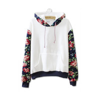 Korean Thick Fleece Cotton Hooded Tops Sweat shirts kpop suits for women kawaii New
