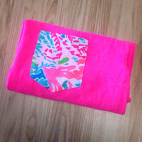 Lilly Pulitzer Short Sleeve Pocket Tees