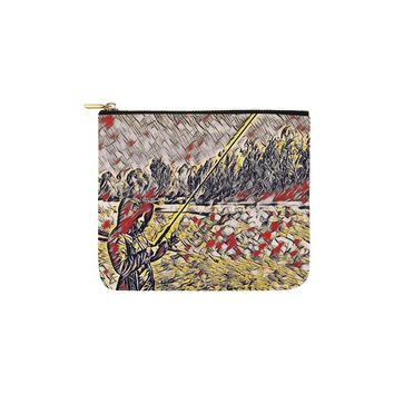 Levi Thang Fishing Design 9 Carry-All Pouch 6''x5''