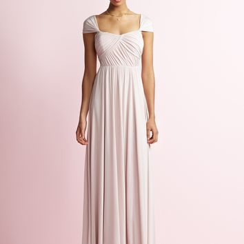 Jenny Yoo JY504 Long Tank Strap Bridesmaid Dress