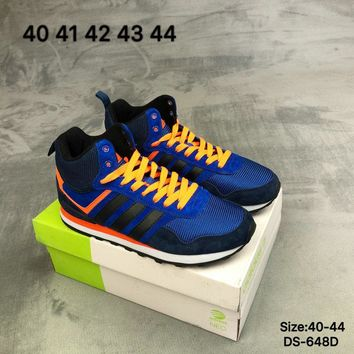 Adidas NEO KXT WTR MID Men Blue Fashion Outdoor Sports Running Shoes