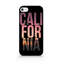CALIFORNIA - Cali - California Beaches - Palm Tree - Wanderlust - iPhone 5C Black Case (C) Andre Gift Shop