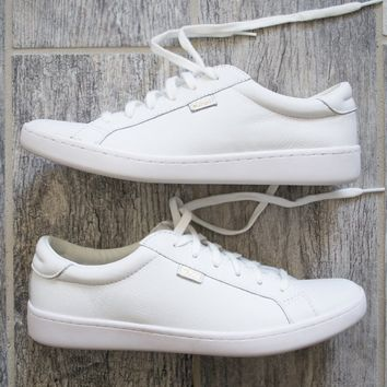 Leather White Keds | Best-Seller