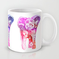 An Elephant Plays Soccer Mug by DEPPO