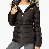 The North Face Gotham Faux-Fur-Trim Hooded Jacket | macys.com