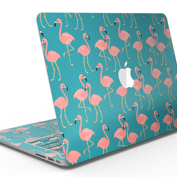 Tropical Flamingo v2 - MacBook Air Skin Kit