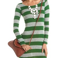 Rugby Stripe Body-Con Dress: Charlotte Russe