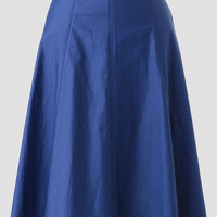 Patisserie Date Coated Midi Skirt
