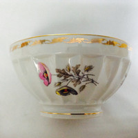 French Cafe Au Lait Bowl Vintage Porcelain CNP France