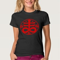 Goth Satanic Cross Occult Symbol Shirts