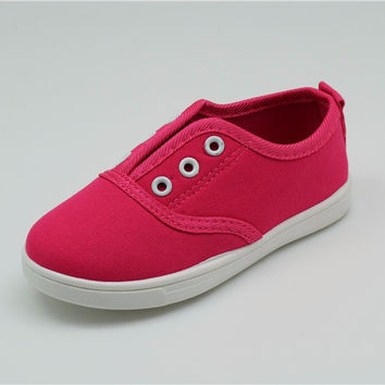 Kids Canvas Shoes Toddler Boys Girls Canvas Sneakers