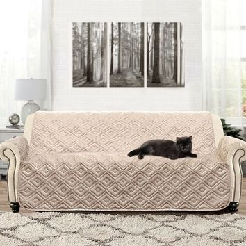 DriftAway Marley 100% Waterproof Quilted Sofa Protector for Kids, Pets | Overstock.com Shopping - The Best Deals on Sofa Slipcovers