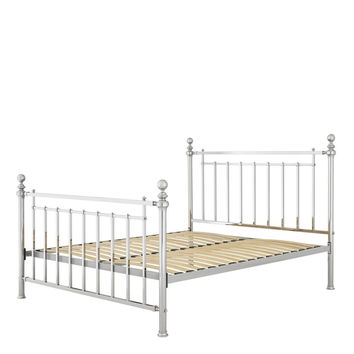 Nickel Bed Frame | Eichholtz Blair