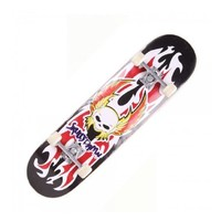 COOLGO Fire Gladiator Stickers Maple Deck Skateboard Complete,ship from US