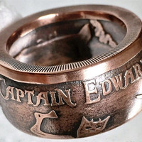 Captain Edward Teach BLACKBEARD rings