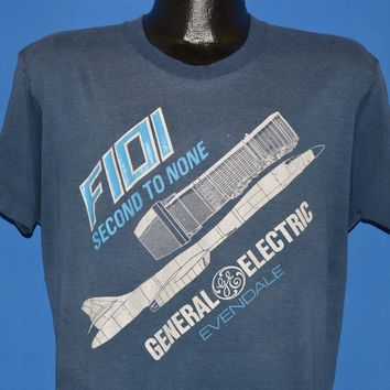80s General Electric F101 Second To None t-shirt Large