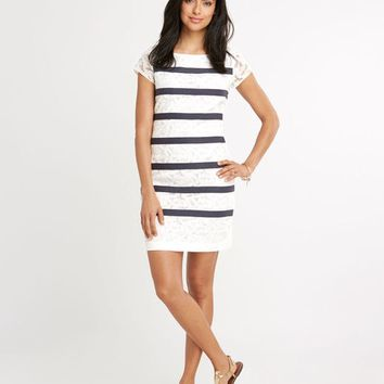 Anchor Lace Shift Dress