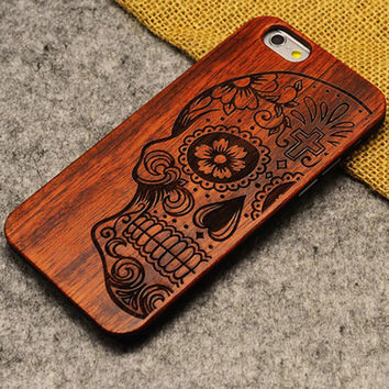 Thin Luxury Bamboo Wood Phone Case For Iphone 5 5S 6 6S 6Plus 6S Plus 7 7Plus