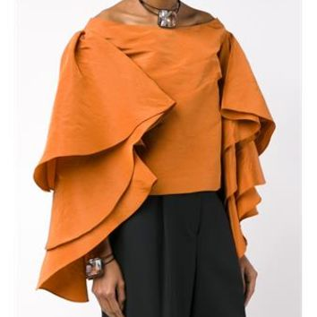 ROSIE ASSOULIN   Bidi Bidi Bom Bom Off-Shoulder Top   brownsfashion.com   The Finest Edit of Luxury Fashion   Clothes, Shoes, Bags and Accessories for Men & Women