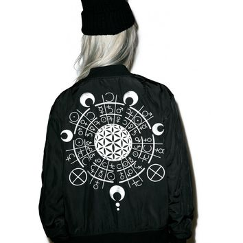 X GRACE NEUTRAL MA-1 JACKET