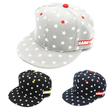 Korean Print Hip-hop Adjustable Baseball Cap Hats [4917716804]