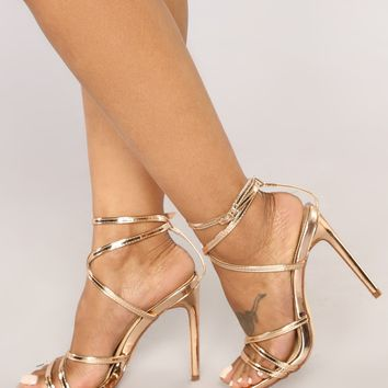 Balance Heel - Rose Gold