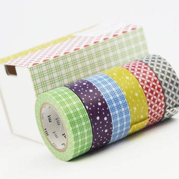 MT masking Tape Wamon (6 PACKS)