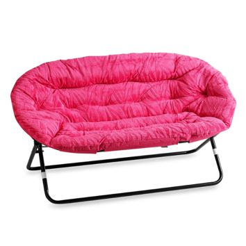 Idea Nova Double Saucer Chair In Pink From Bed Bath Beyond