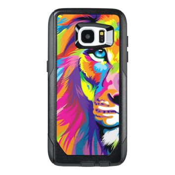 Colorful Lion Samsung Galaxy S7 Edge Case