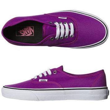 VONEO5 SURFSTITCH - FOOTWEAR - WOMENS FOOTWEAR - SNEAKERS - VANS WOMENS AUTHENTIC SHOE - NEON