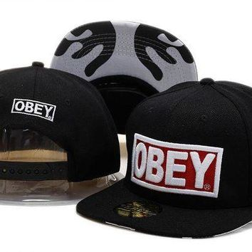 VONEED Obey Snapback Cap Snapback Hat - Ready Stock