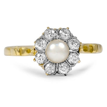 18K Yellow Gold The Dede Ring