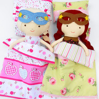 BEDDING, doll bedding set, 4pcs bedding set, pillow doll, 18inch doll bed set, doll comforter, AG doll bedding, sensory toy, superhero doll