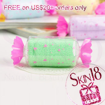 Freebies for US$20+ Order Only - Candy Towel (Green)