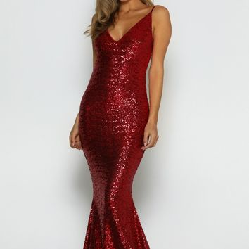 Siena Sequin Gown