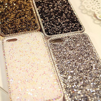 Bling iphone 4 case rhinestone iphone 5s case Glitter iphone 5 case Sparkly iPhone 5 case glitter iPhone 4s case Lovely Chic iphone case
