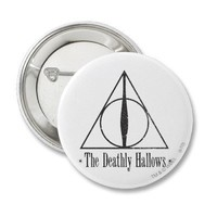 The Deathly Hallows Pin from Zazzle.com