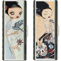 CASES - CAIA KOOPMAN | Caia Koopman Goth  Case, Gothic Girls, Gothic Fairy Princess, Dark, Cool, Alternative, Interesting, Personal Accessory, Tampons Case, Women, Girls Gifts | UncommonGoods