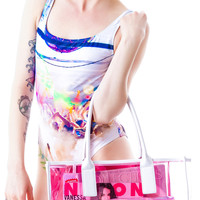 Wildfox Couture Wildfox Bel Air Vinyl Tote Pink One