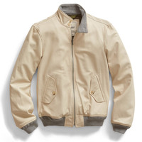Ivory Leather Jacket