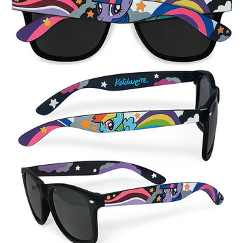My Little Pony Sunglasses - Wayfarer style unique handpainted sunglasses